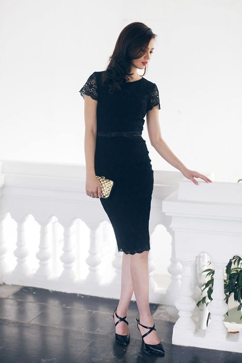 Chọn váy đầm nổi bật tại tiệc cưới mùa Thu - 13
