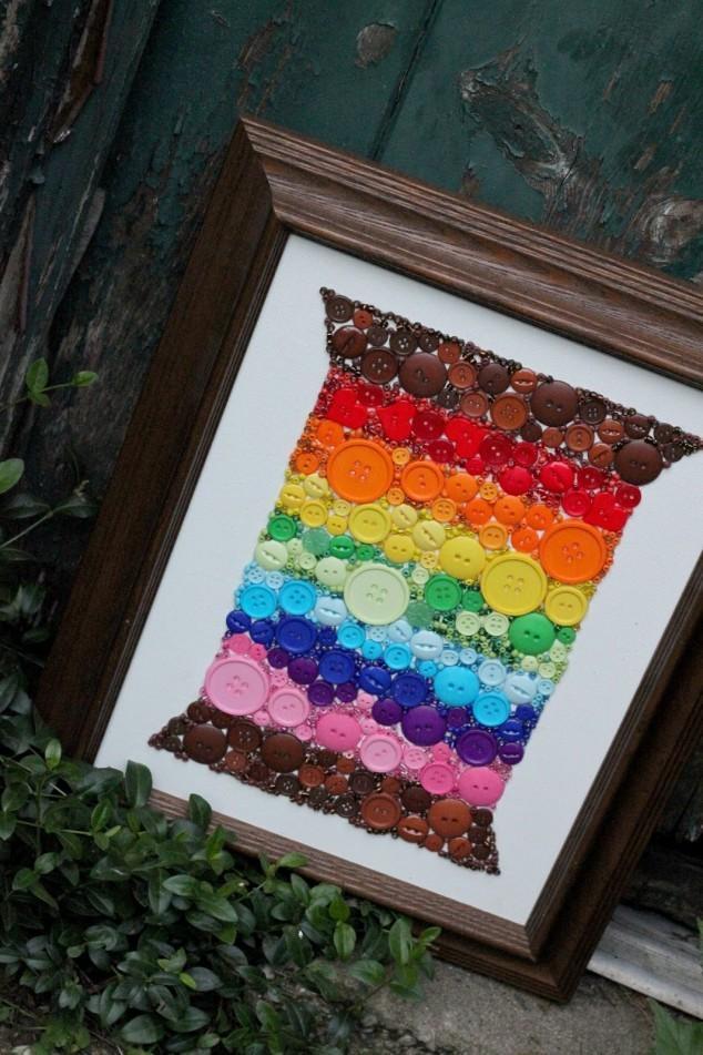 Làm điệu toàn diện với cúc áo đa sắc màu