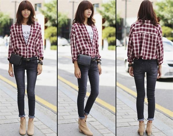 Tips chọn và mix quần jeans đúng trend cho mùa thu 8