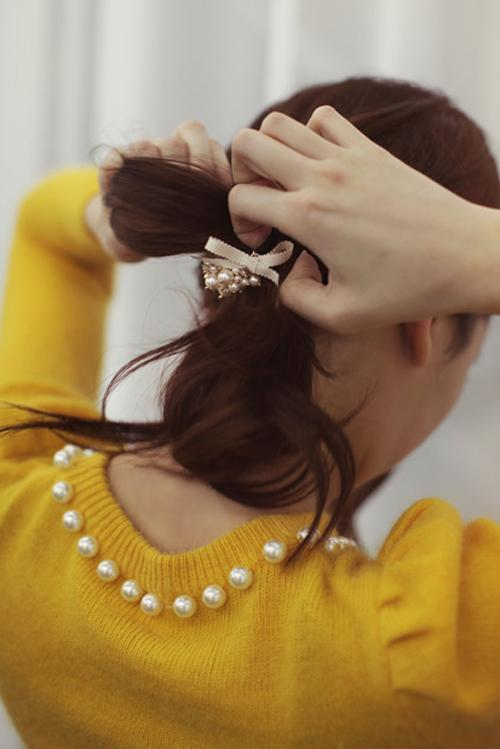 Bí quyết để có mái tóc đuôi ngựa hoàn hảo