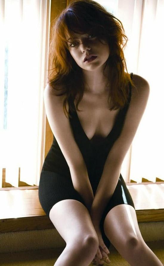 Emma Stone - Nét gợi cảm đằng sau vẻ trong sáng 7