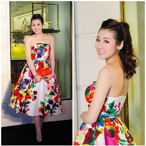 Những mốt váy hoa 'xiêu lòng' người đẹp - 14