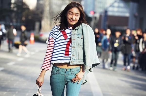 Street style thu đông đẹp và chất của fashionista xứ Hàn
