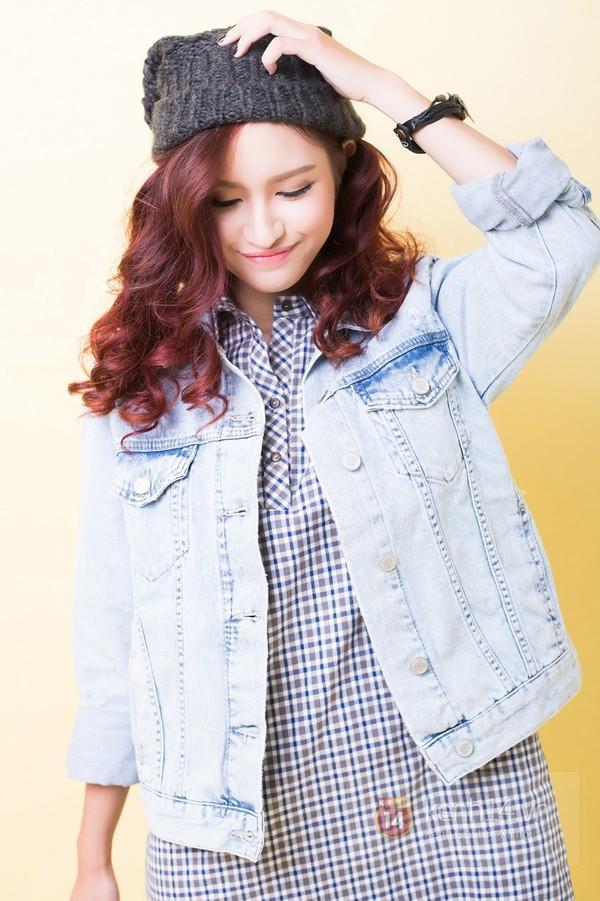 5 cách mix&match cực xinh với denim jacket quen thuộc 7