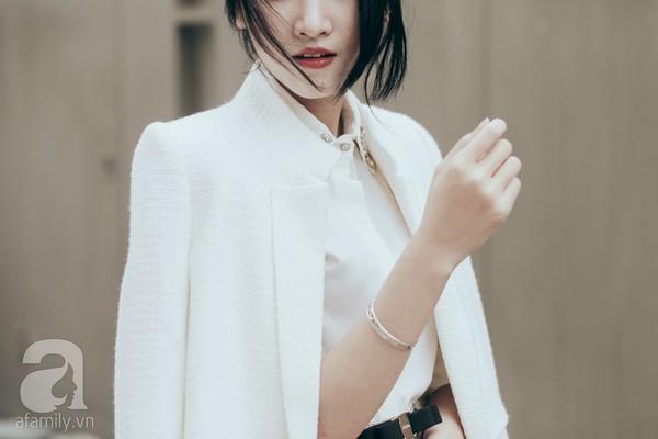 Trở lại làm việc với cả tuần mặc đẹp & phong cách cùng sơmi trắng 11