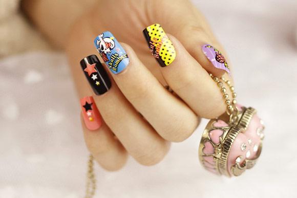 F5 đôi tay với những mẫu nail ngọt ngào ngày cuối tuần