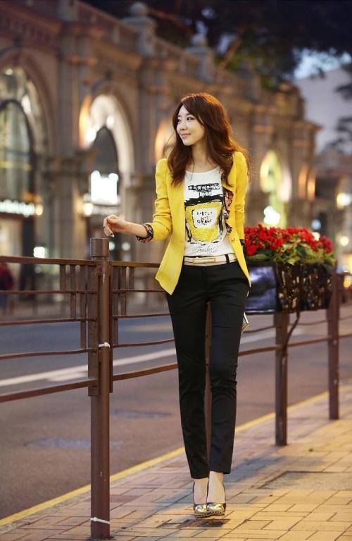 Quần công sở Hàn Quốc trẻ trung và thời trang