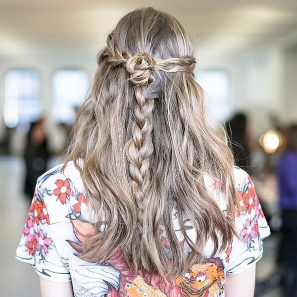 Những mẫu tóc tết đẹp lên ngôi mùa Thu Đông 2013