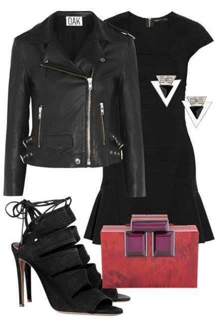 Biến hoá 1 chiếc váy đen theo 4 hoàn cảnh cho mùa Thu/Đông 2