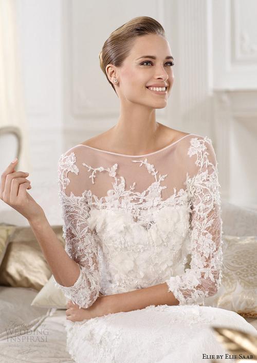 Những mẫu váy cưới ren đẹp nhất 2013