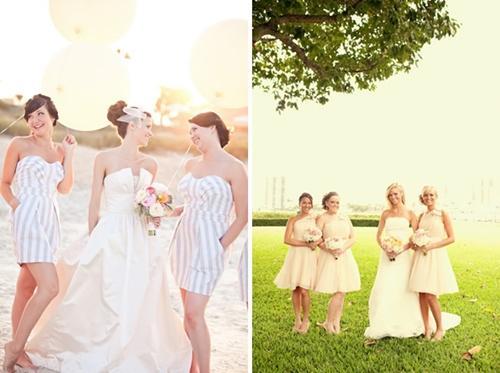 7 gợi ý váy phù dâu thời trang và nhã nhặn 17
