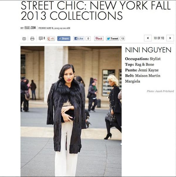 NTK gốc Việt Nini Nguyen - từ lao công trở thành stylist riêng của Rihanna 21
