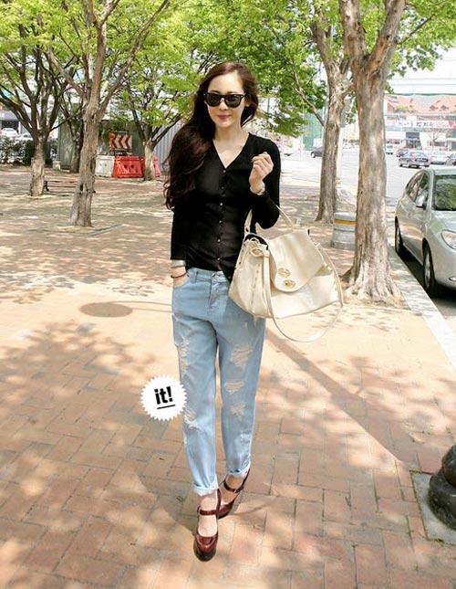 'Chất lừ' với quần jeans dáng thụng - 14