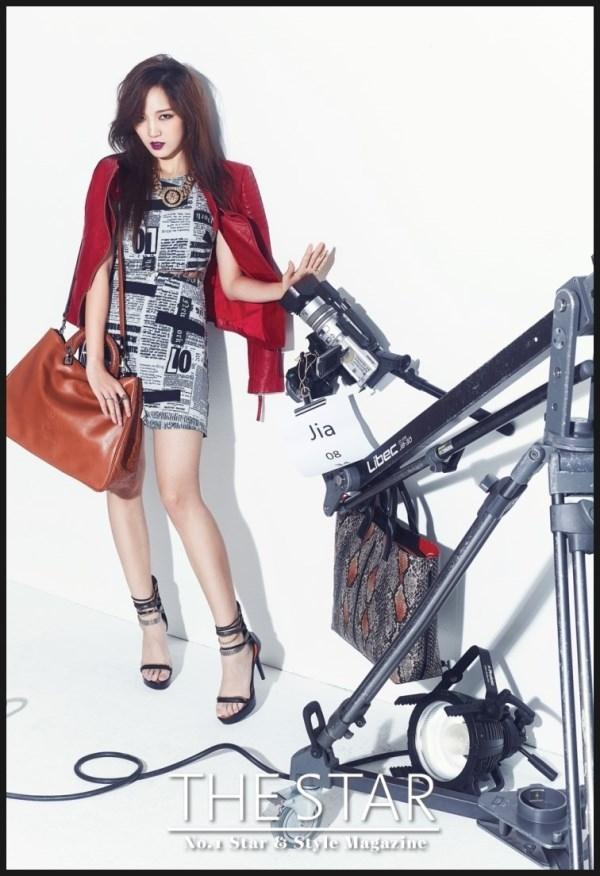 Miss A xinh đẹp trong hậu trường buổi thu hình