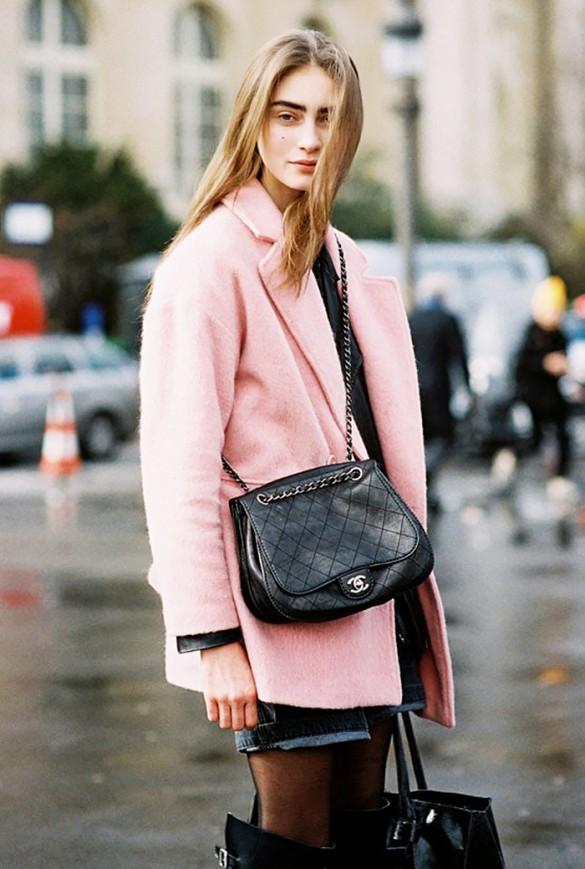 Áo khoác hồng - Xu hướng