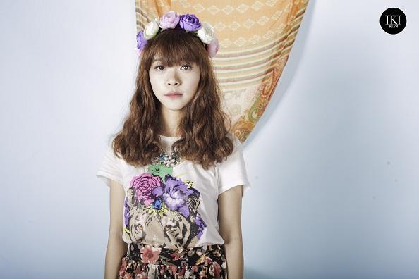 Guu thời trang của Amy St.319 với váy hoa ngày hè