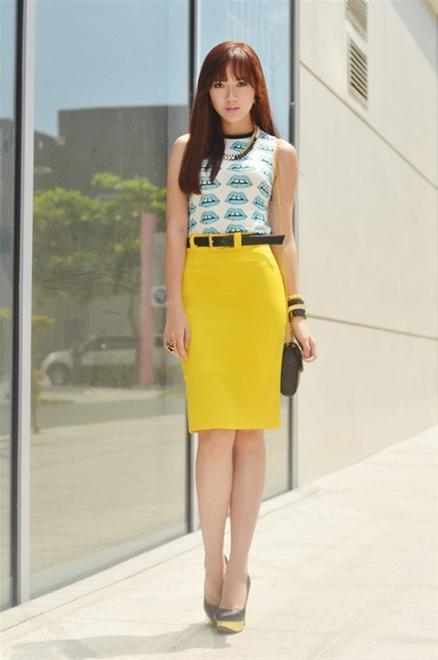3 kiểu chân váy đẹp hoàn hảo cho quý cô công sở mùa hè