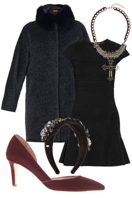 Biến hoá 1 chiếc váy đen theo 4 hoàn cảnh cho mùa Thu/Đông 3