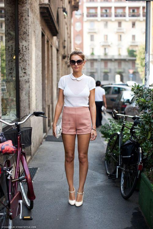 Cách phối đồ với các mẫu quần short đẹp