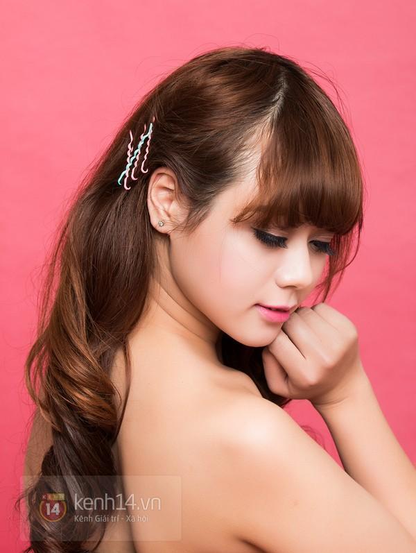 Tự làm 3 kiểu tóc cực xinh và dễ với kẹp tăm