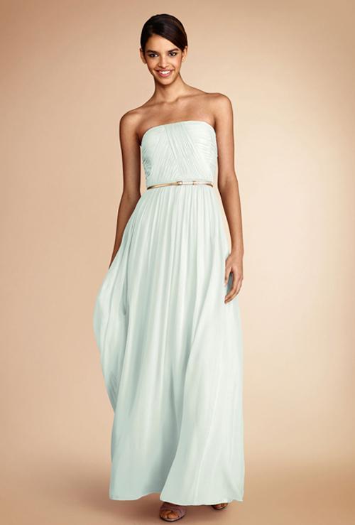 Xu hướng váy phù dâu tone màu pastel 2014 14