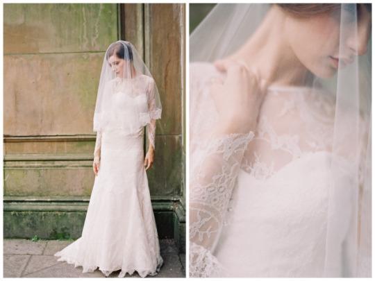 Xu hướng váy cưới dài tay cho mùa đông lạnh giá 1