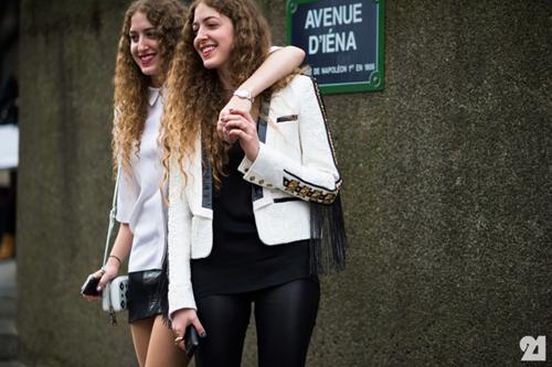 Sama & Haya - cặp siêu mẫu kiêm fashionista song sinh cực thú vị