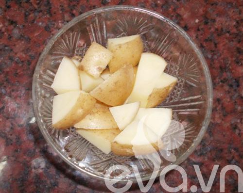 Nhật ký Hana: Trắng hồng nhờ khoai tây