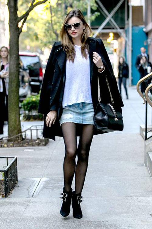 Chọn áo khoác mùa đông chuẩn như Miranda Kerr - 11