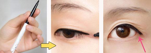 Trang điểm với màu mắt tím huyền ảo
