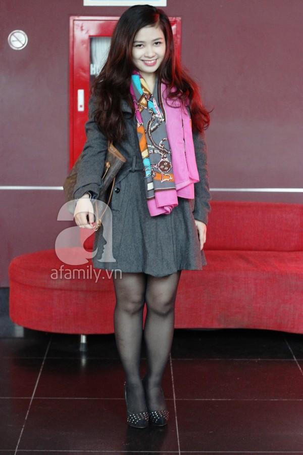Phái đẹp Hà thành xúng xính áo khoác cho street style ngày lạnh 4