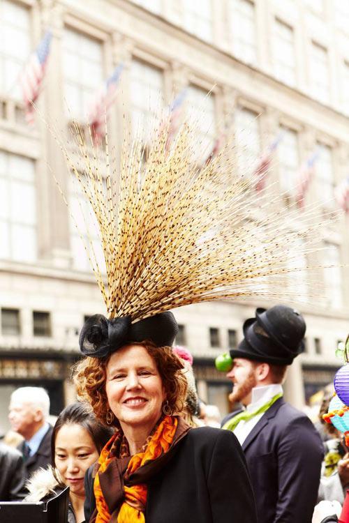 Mũ nghệ thuật trên đường phố New York