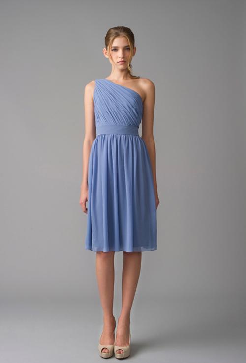Xu hướng váy phù dâu tone màu pastel 2014 17