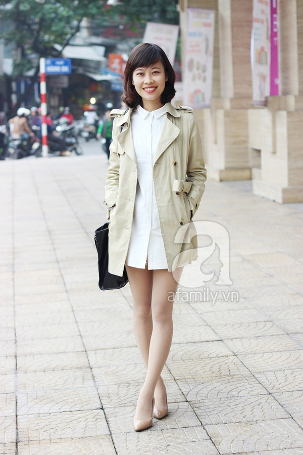 Phái đẹp Hà thành xúng xính áo khoác cho street style ngày lạnh 5
