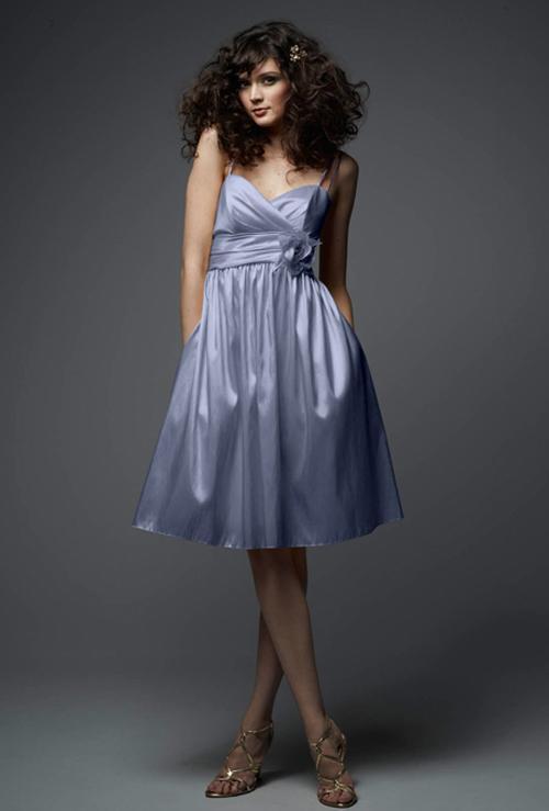 Xu hướng váy phù dâu tone màu pastel 2014 18