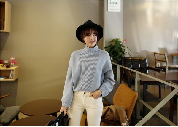 4 màu áo len gam pastel không thể thiếu của mùa đông 8