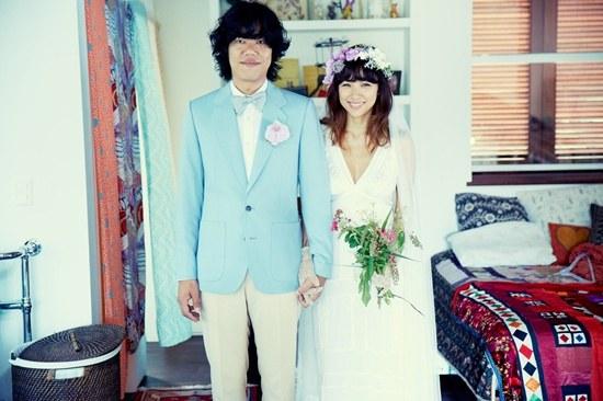 Tiết lộ ảnh cưới đáng yêu của Lee Hyori 1