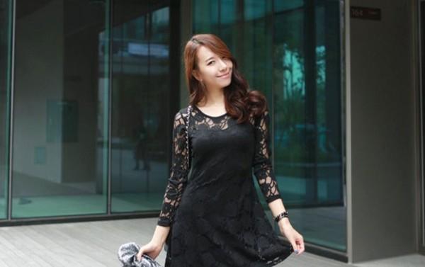 Dạo phố thu mát mẻ với những kiểu váy điệu đà