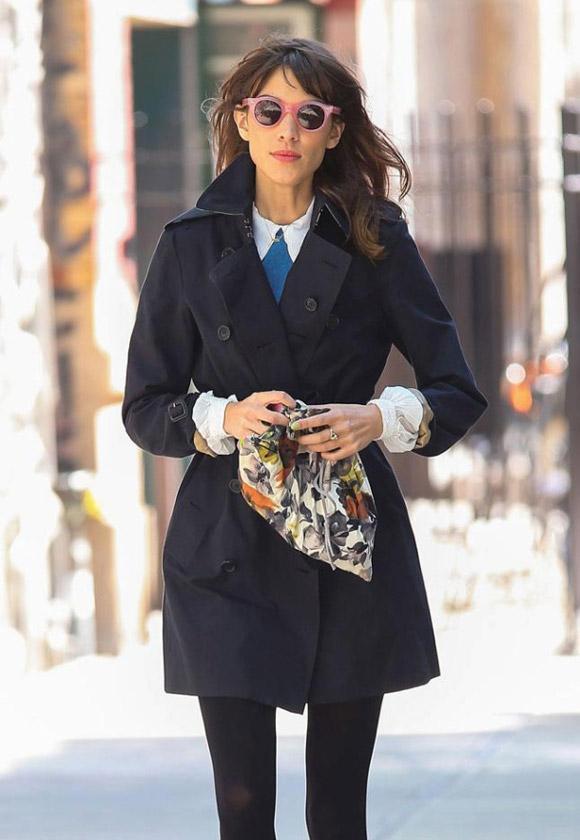 Trench coat – chiếc áo hot của mùa đông