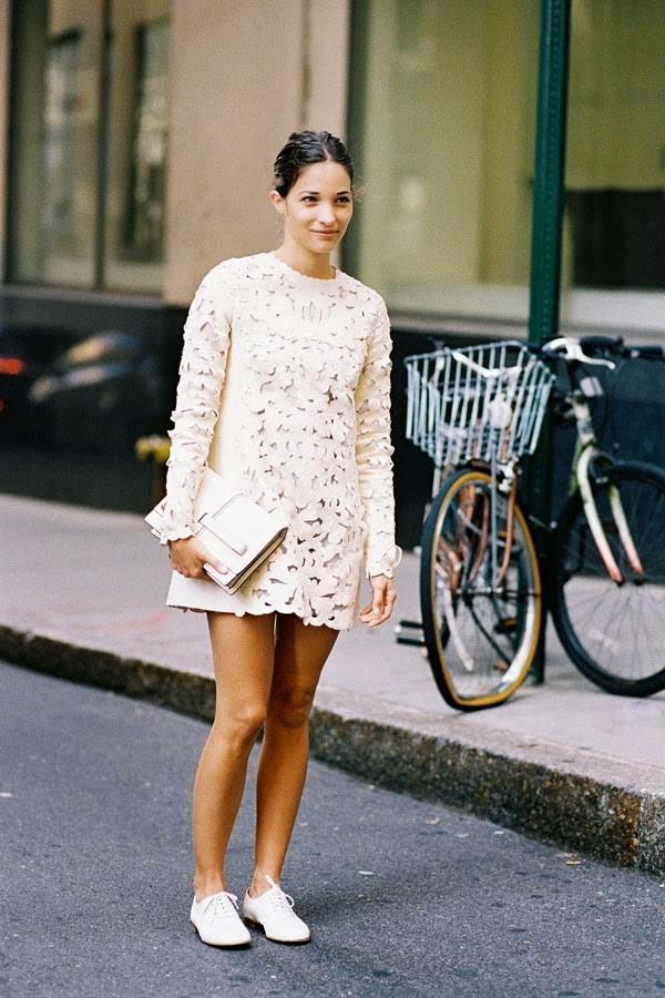 Đẹp nhất mùa Xuân với 5 món trang phục đơn giản 5