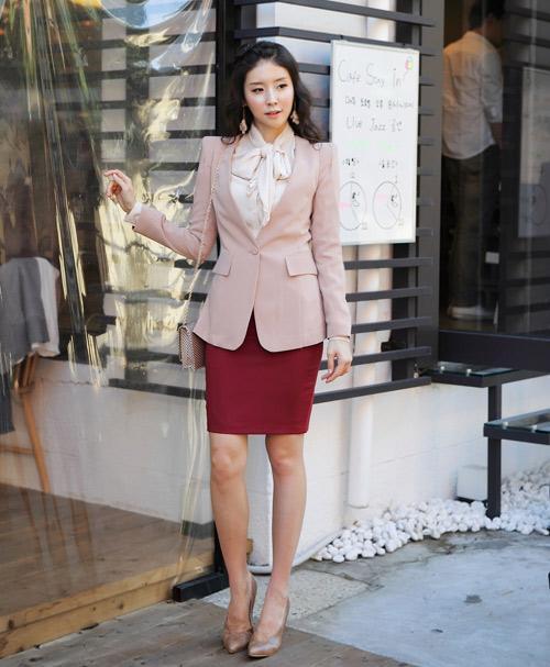 3 kiểu áo khoác cần có của nàng công sở