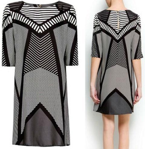 Váy suông đẹp ngày hè 2013