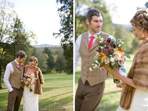 Chọn hoa tone ấm áp cho đám cưới mùa lạnh 18