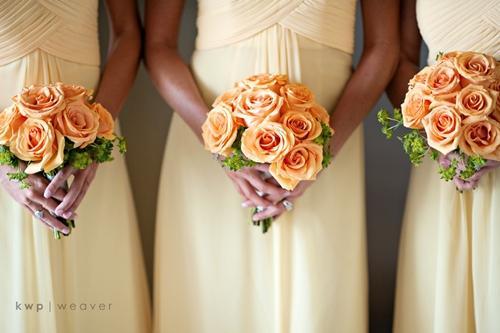 Chọn hoa tone ấm áp cho đám cưới mùa lạnh 7