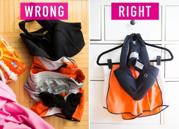 17 thói quen hàng ngày vô tình làm cũ quần áo của bạn 9