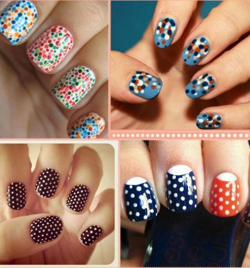 Những kiểu vẽ nail đơn giản bạn gái không thể không biết