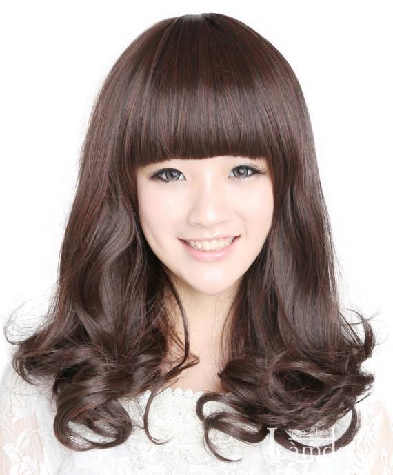 Các mẫu tóc xoăn đẹp quyến rũ mùa thu đông 2013