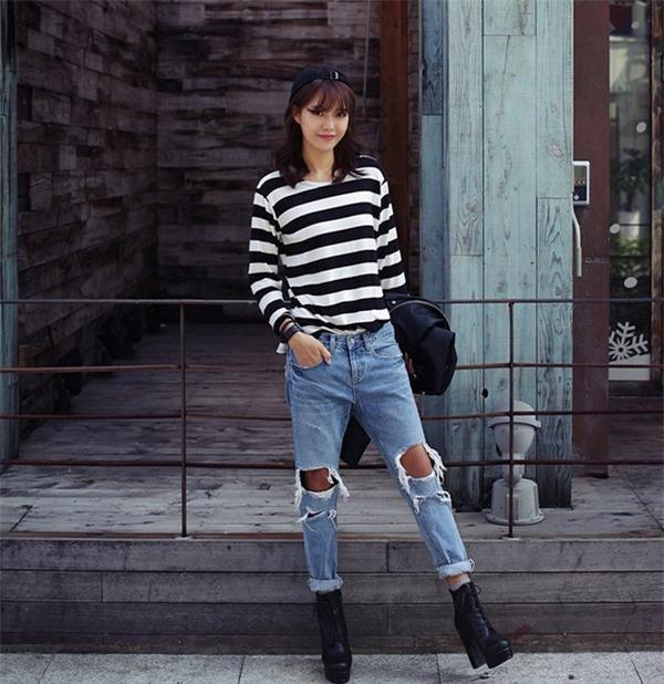 Tips chọn và mix quần jeans đúng trend cho mùa thu 16
