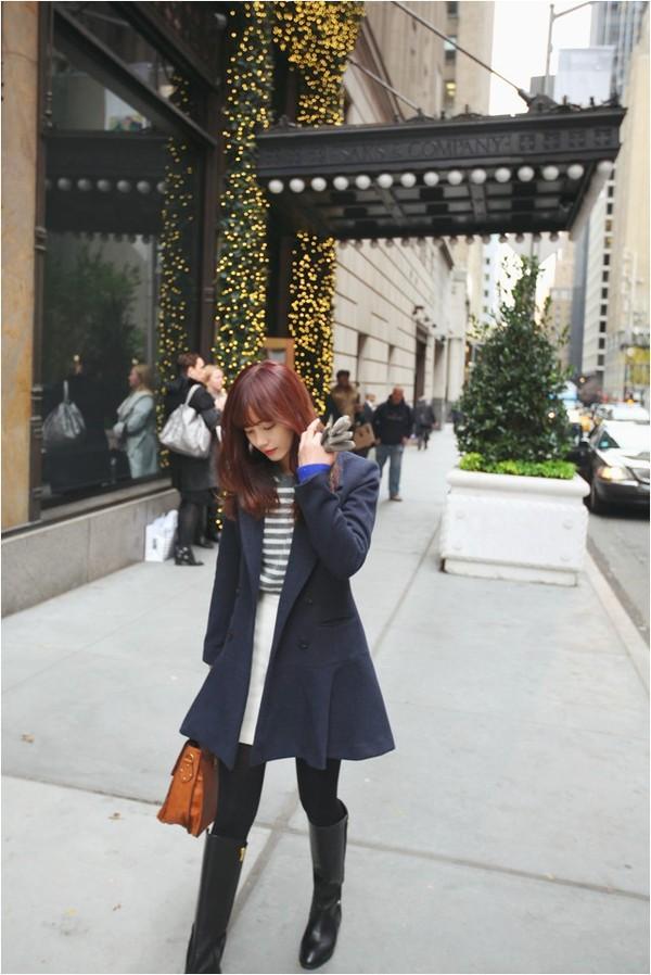 Kết hợp áo khoác vừa ấm, vừa sang cho phái đẹp công sở 8