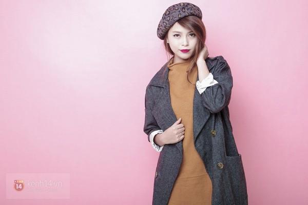 Tạo ra 4 phong cách khác biệt chỉ với 1 chiếc áo khoác mùa đông 7